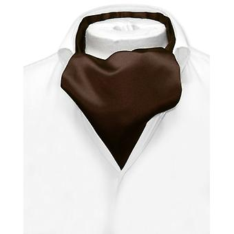 Vesuvio Napoli ASCOT Solid Cravat Men's Neck Tie