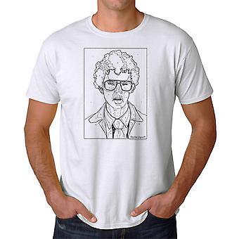 Napoleon Dynamite af numre mænd hvid Funny T-shirt