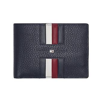 Tommy Hilfiger – Heritage – extra CC and coin heren portemonnee – Tommy Navy