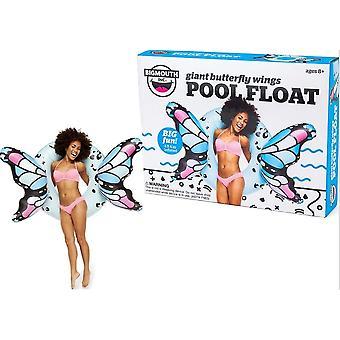 BigMouth inflable gigante mariposa alas piscina flotador playa vacaciones piscina tumbona agua playa azul