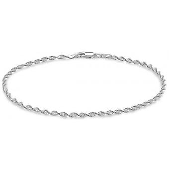 IBB London Twist Chain Bracelet - Silver