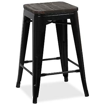 Kuovi Stool Kuovi High Powdercoating Black (Furniture , Stools)