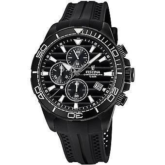 Festina mens watch chronograph F20369/1