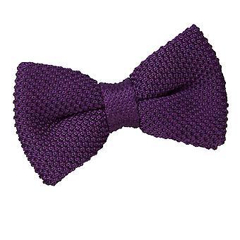 Cadbury lilla strikk strikket pre knyttet sløyfe