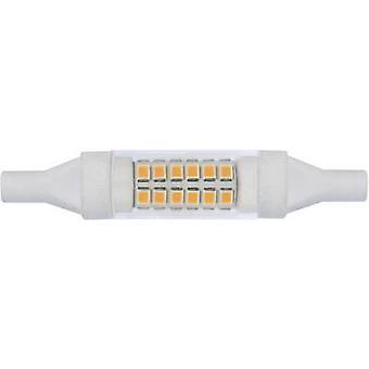 LightMe LED R7s Tubular 5 W Warm white (Ø x L) 15 mm x 78 mm EEC: A+ 1 pc(s)