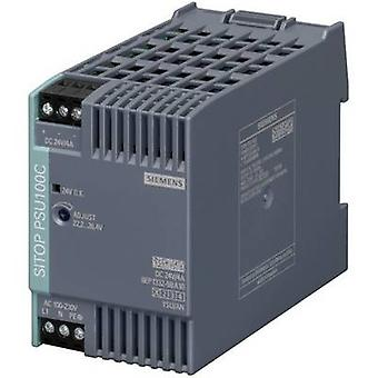 Siemens SITOP PSU100C 24 V/4 A Rail mounted PSU (DIN) 24 Vdc 4 A 96 W 1 x