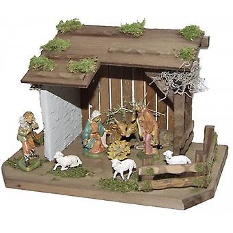 Wieg SAO houten wieg Nativity kerst Nativity testing