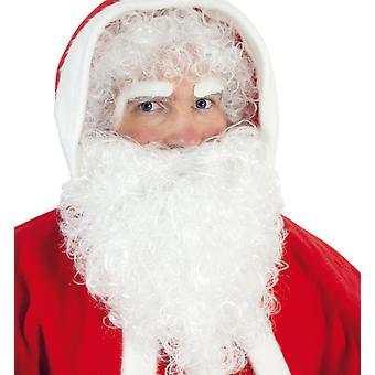 Nikolaus-Set weiss 3-teililg X-Mas Weihnachten