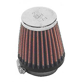 K & N RC-2290 Universal Clamp-On-Air-Filter: Runde konische; 1,563 In (40 mm) Flansch-ID; 3 Zoll (76 mm) Höhe; 2,625 In (67