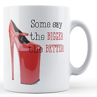 Certains disent plu mieux - Mug imprimé
