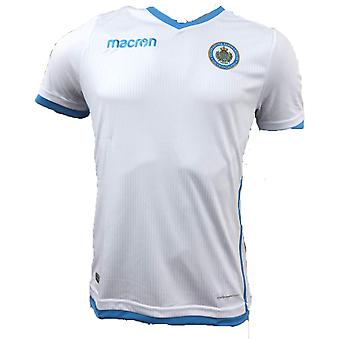 2018-2019 San Marino Away Macron Football Shirt