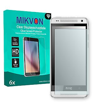 HTC M4 Screen Protector - Mikvon Clear (Retail Package with accessories)
