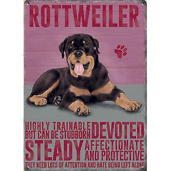 Medium Wall Plaque 200mm x 150mm - Rottweiler