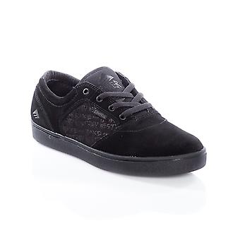 Emerica Black-Black Figgy Dose - Baker Collaboration Shoe