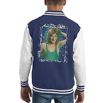 TV Times Rod Stewart Russell Harty Plus Kid's Varsity Jacket