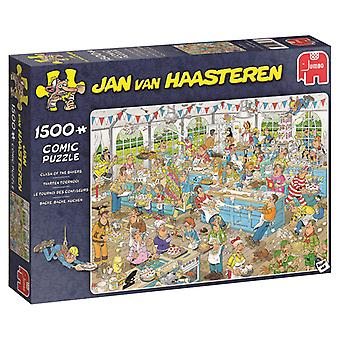 Jumbo Puzzel Jan Van Haasteren Taarten Toernooi 1500 Stukjes