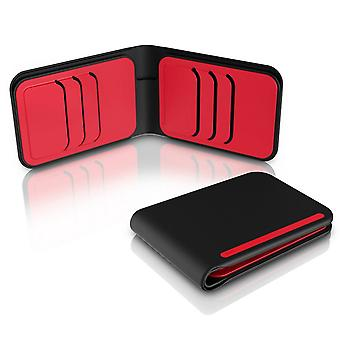 dosh Achtung Street 6 Card Wallet - Red