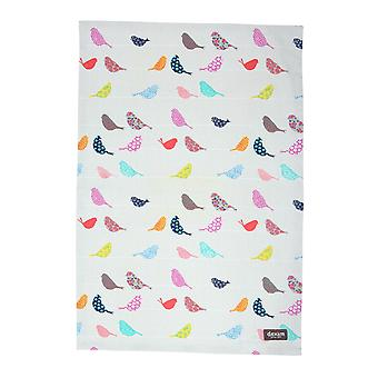 Dexam Little Birds Tea Towel