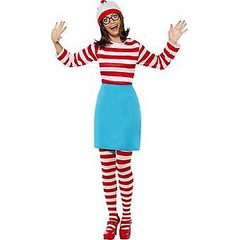 Where's Wally? Wenda Costume, UK Dress 16-18