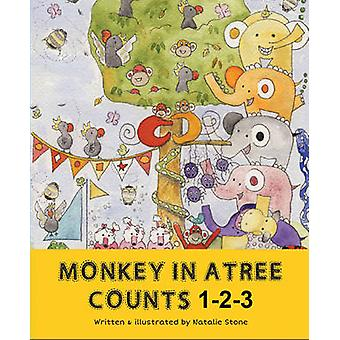 Monkey in a Tree Counts 1 2 3 by Natalie Stone - 9781922036674 Book