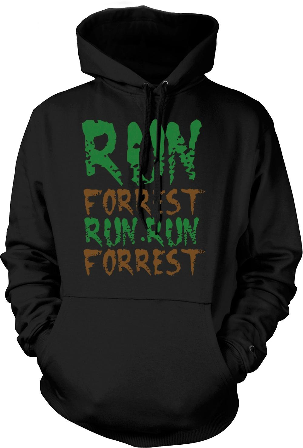 Mens Hoodie - Run, Forrest, Run! - Funny Quote