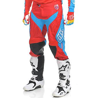 Troy Lee Designs Red-Blue SE Pro Corse MX Pant