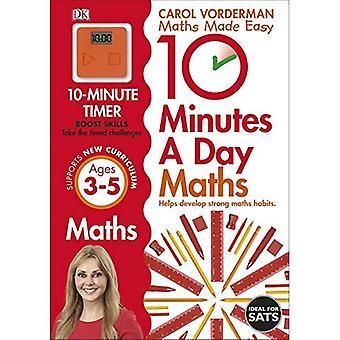 10 minuter en dag matte åldrarna 3-5