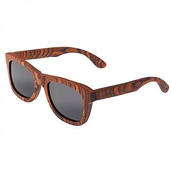 Spektrum Peralta Holz polarisierte Sonnenbrille - Orange/Schwarz
