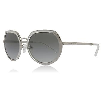 Michael Kors MK1034 305011 Silber MK1034 Runde Sonnenbrille Kategorie 2 Objektivgröße 53mm