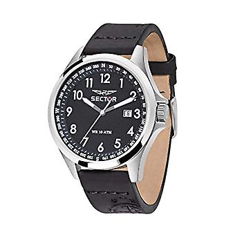 Sector No Limits Watch analog quartz watch with leather _ R3251180004