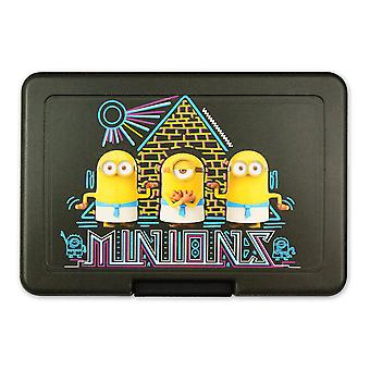 Despicable me-dose 2 minions bread Egyptians minions black, printed, plastic, in poly bag.