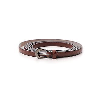 Brunello Cucinelli Brown Leather Belt
