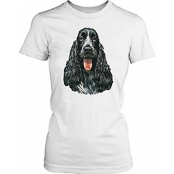 English Cocker Spaniel - jachthond dames T Shirt