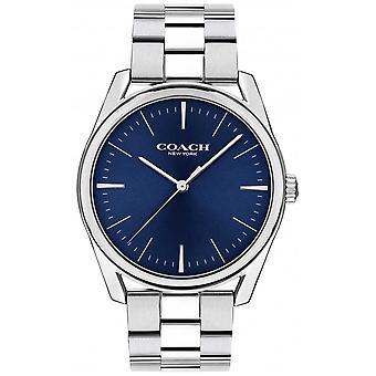 Coach | Mens Modern Luxury | Stainless Steel Blue Dial | 14602401 Watch