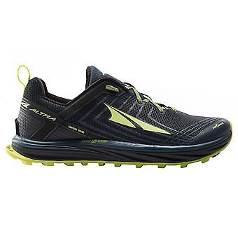 Altra Timp 1.5 Mens Higher Cushioning Zero Drop Trail Running Shoes Blue/lime