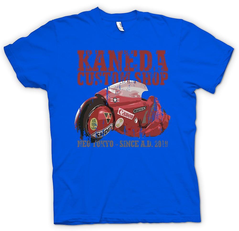 Mens T-shirt-Kaneda Custom Shop - Neo Tokyo - Akira