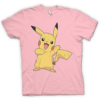 Kids T-shirt - Pikachu - Cool Pokemon inspireret