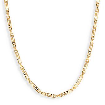 Grekisk guldpläterad halsband 45cm