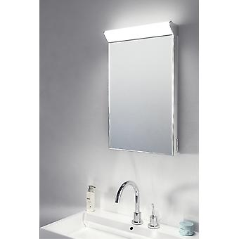 Sirius Top Light LED Bathroom Mirror With Demister Pad & Sensor k474
