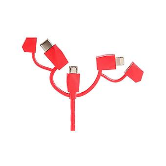 Outdoor Technology Red Calamari 2.0 3 In 1 Cable
