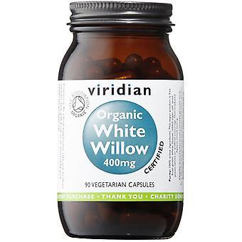 Viridian Organic White Willow 400mg Veg Caps 90 (977)