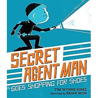 Secret Agent Man Goes Shopping pour les chaussures