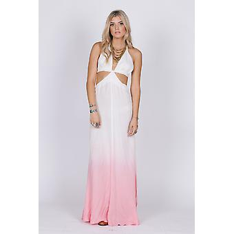 Fairy dust cutout maxi dress