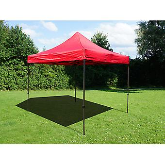 Vouwtent/Easy up tent FleXtents Easy up pavillon Basic v.2, 3x3m Rood