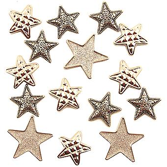 Button Theme Pack-Silver Stars BTP-4110
