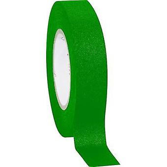 Cloth tape Coroplast 800 Green (L x W) 10 m x 15 mm Natural rubber Content: 1 Rolls