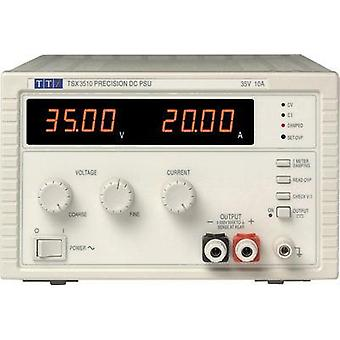 Bench PSU (adjustable voltage) Aim TTi TSX3510 0 - 35 Vdc 0 - 10 A 360 W No. of outputs 1 x