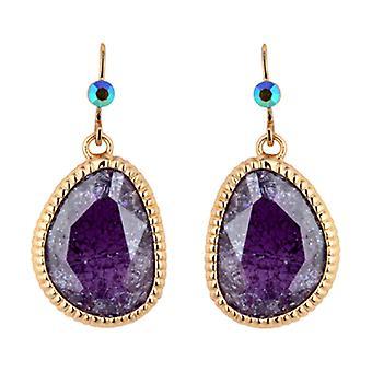 Butler  and  Wilson Purple Zirconia Stone Drops