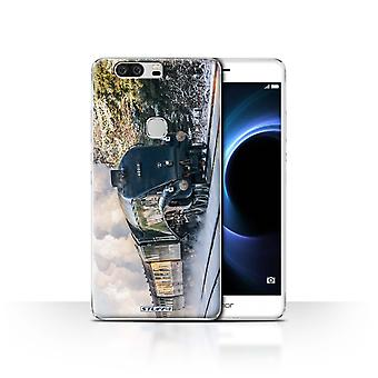 STUFF4 Case/Cover for Huawei Honor V8/Bittern/Steam Locomotive