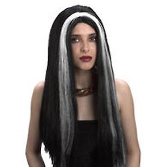 Guirca With Mechon White Witch Wig (Kids , Toys , Imitation , Drama , Accessories)